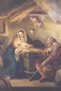 Escenario del nacimiento de Cristo